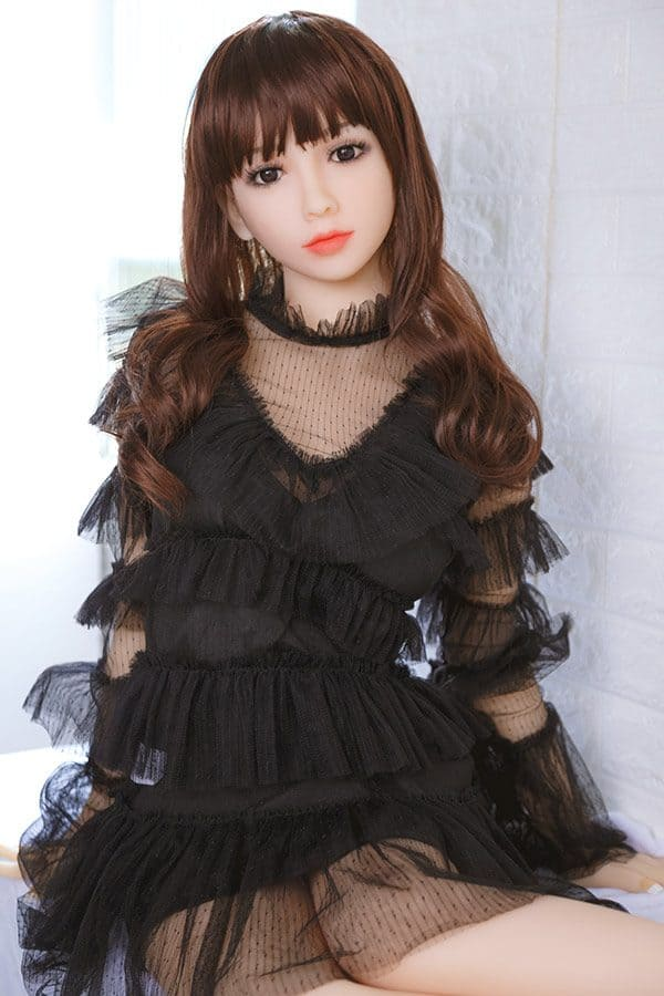Chinese Cute TPE Silicone Sex Doll Polly 148cm