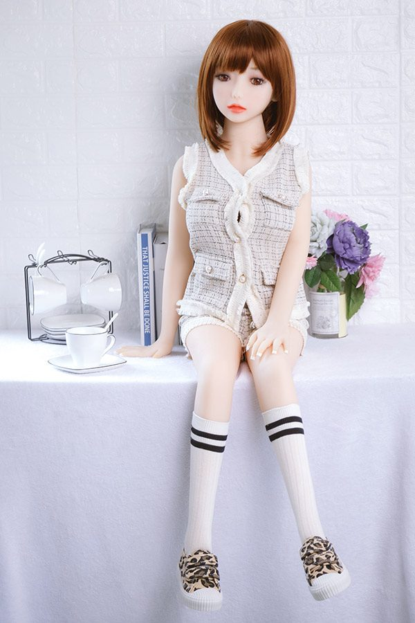 Cute Pure Cheap Mini Sex Doll Wendy 94cm