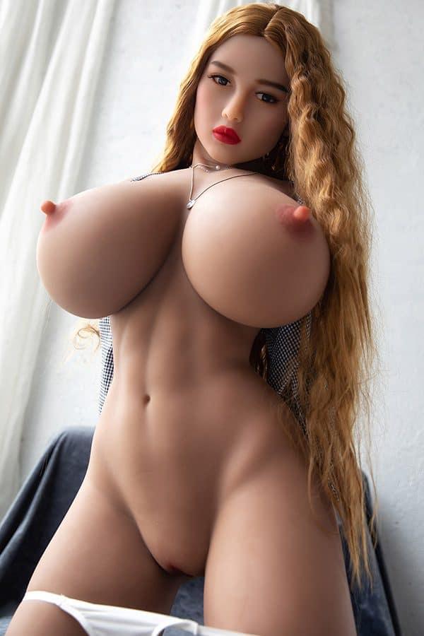 Realistic Busty Big Boobs Sex Doll Sue 158cm