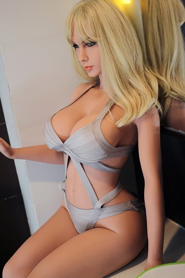 Beautiful Blond Hair Adult Sex Doll Jacqueline 168cm