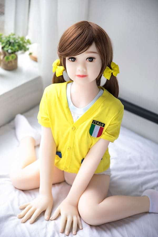 Life-size Cute Teen Flat Chest Sex Doll Allison 100cm