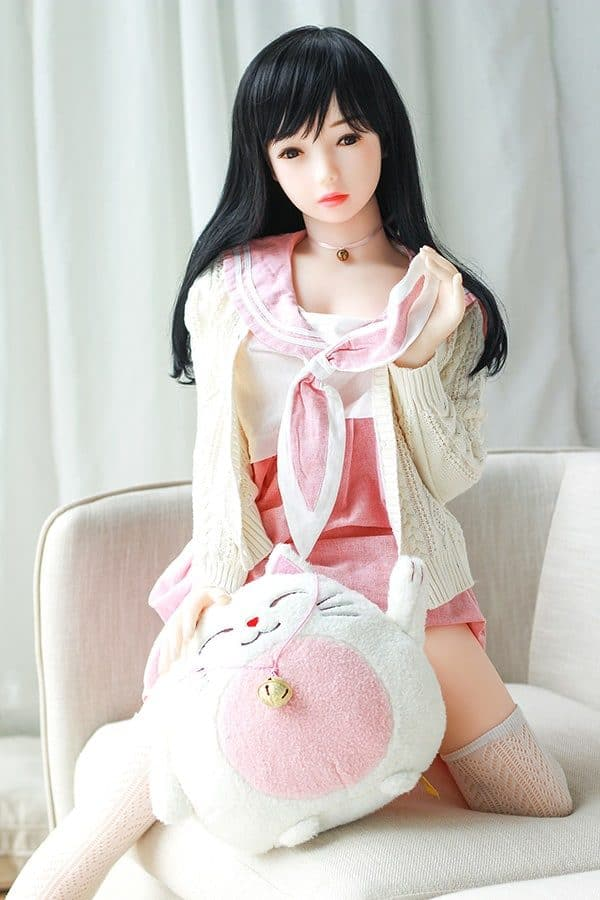 Life-size Japanese Loli Sex Doll Agnes 138cm