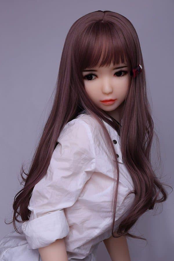 Lifelike Life-size Asian Teen Love Doll Lucy 156cm