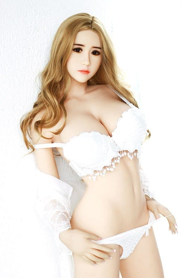 Blonde Young Sexy Busty Female Sex Doll Terry 158cm