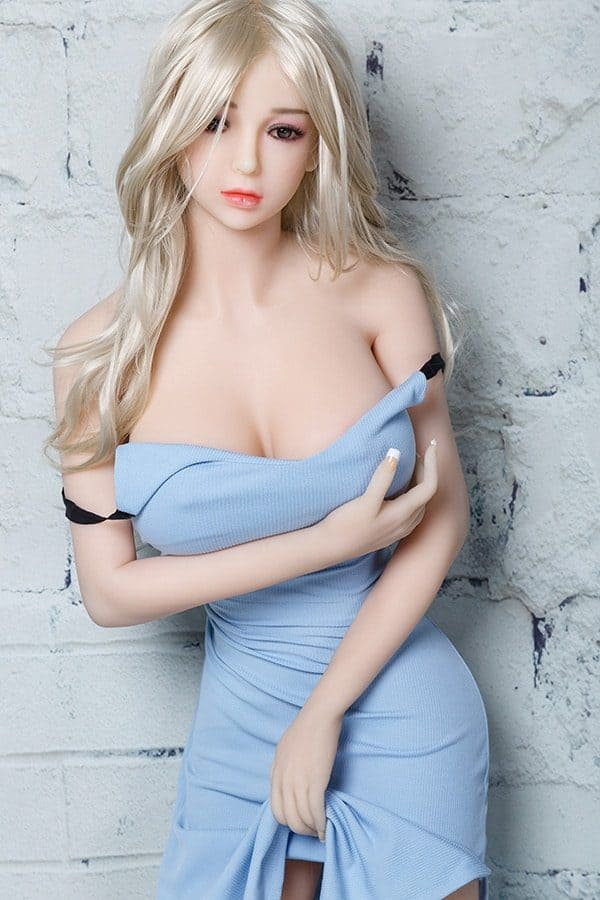 Realistic Young Korean Blonde Adult Sex Doll Vanessa 165cm