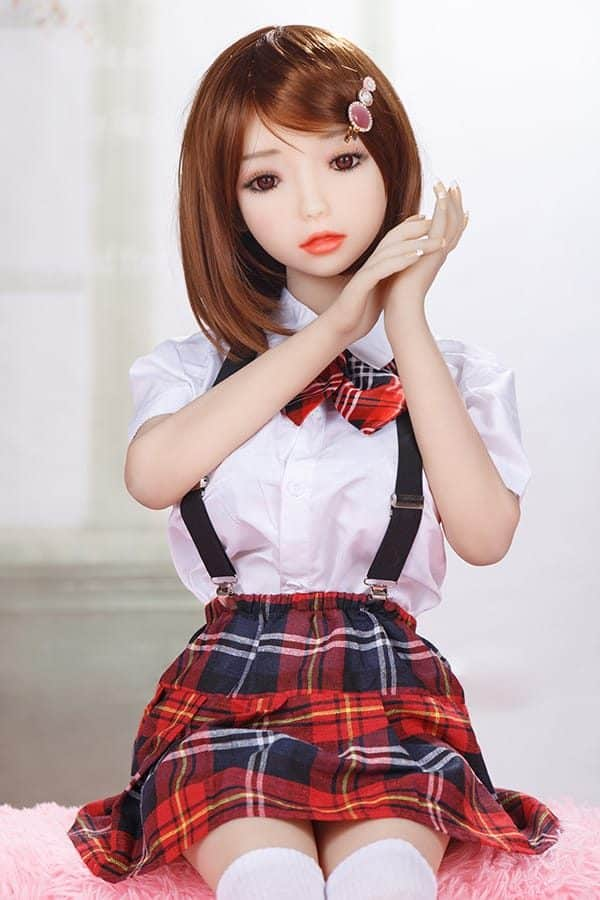 Realistic Cute Teen Student Sex Doll Katie 128cm