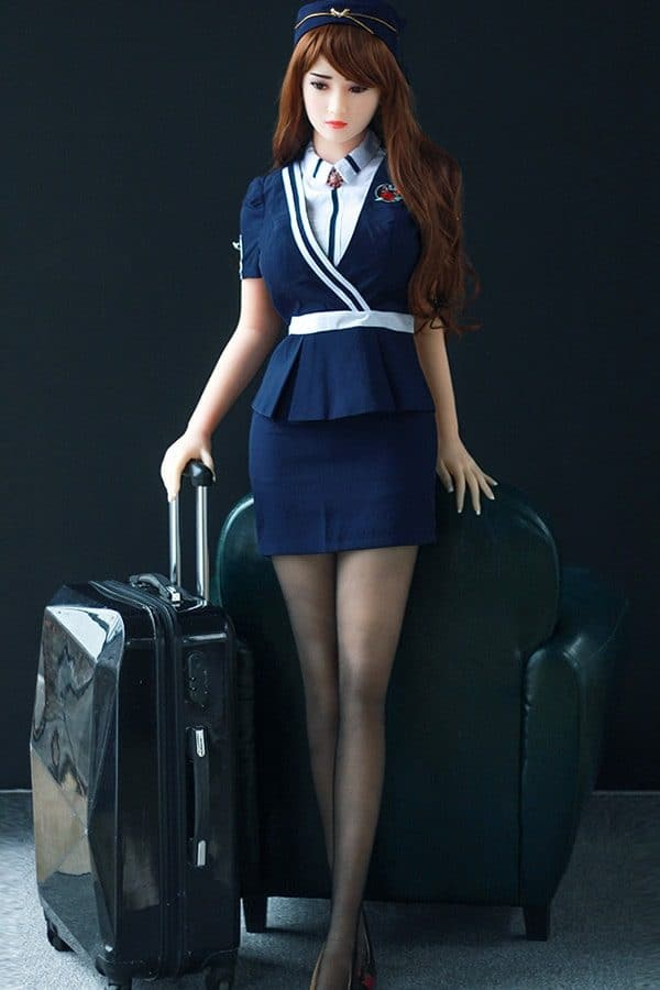 Life-size Beautiful Sexy Stewardess Sex Doll Dolores 165cm