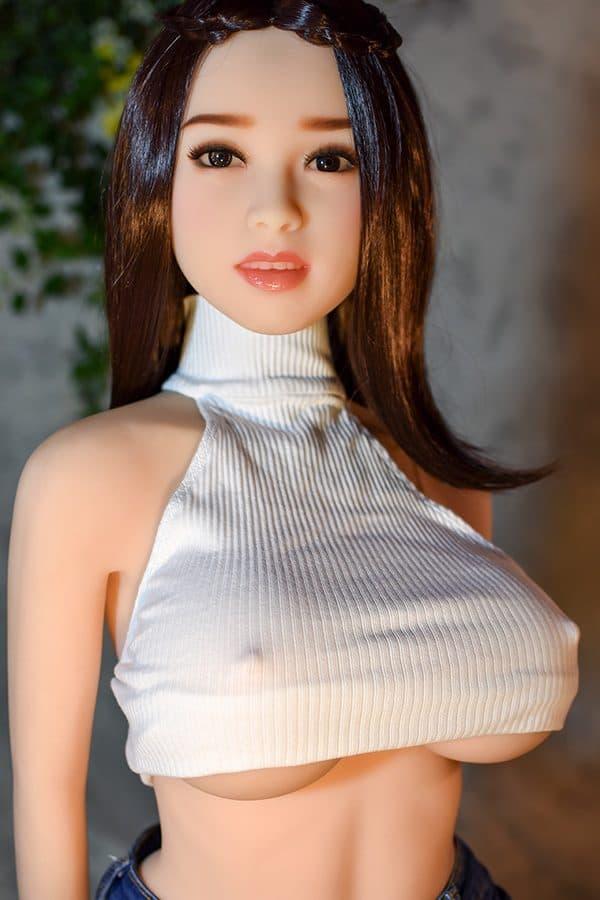 Beautiful Skinny Big Boobs Sex Doll Ashley 140cm