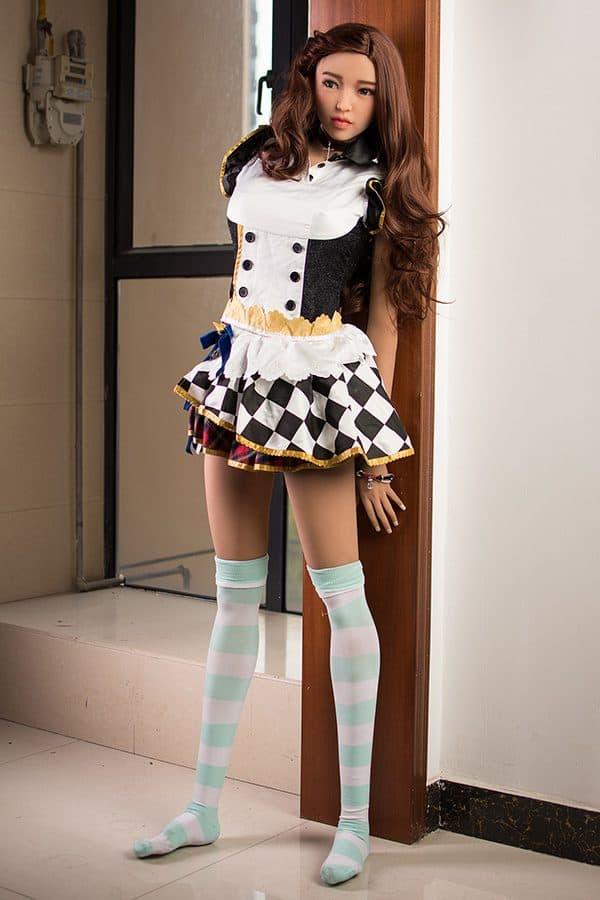 Cute Asian Anime Dress Up Living Sex Doll Diane 160cm