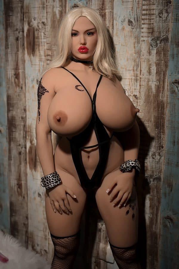 New Life-size BBW Thick Sex Doll Joyce 165cm