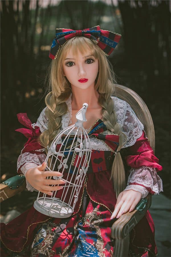 Full Size Japanese Blonde Lolita Fairy Sex Doll Lula 155cm