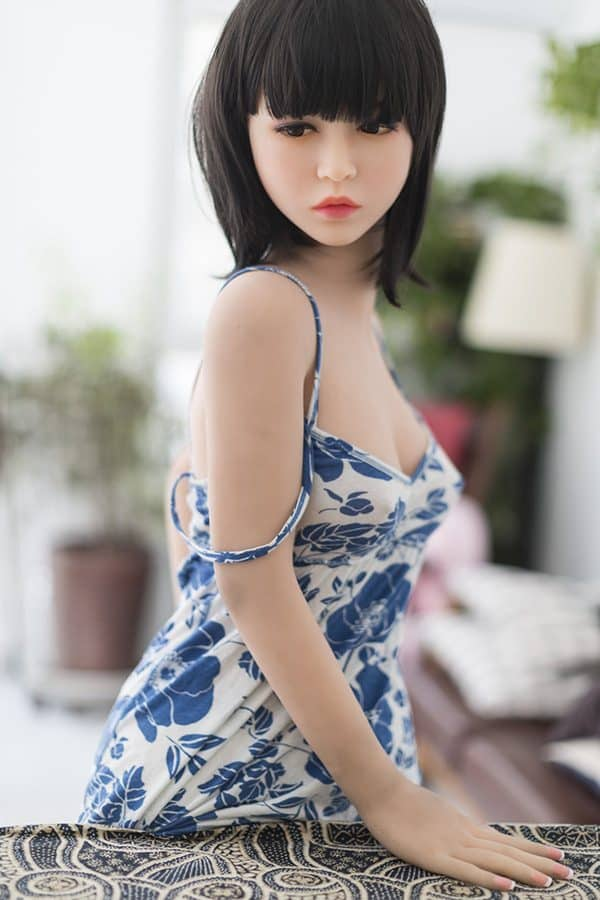 Realistic Life-size Cute Chinese Sex Doll Alison 145cm