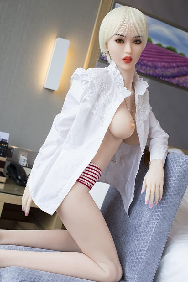 Best Perfect Skinny Blonde Sex Doll Inez 165cm