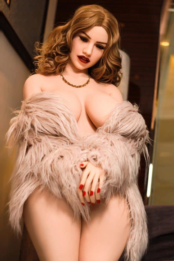 Lifelike Sexiest Mature BBW Thick Sex Doll Wilma 152cm