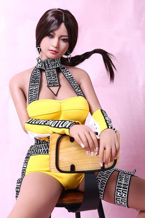 Realistic Life-size Fantasy TPE Sex Doll Leah 165cm