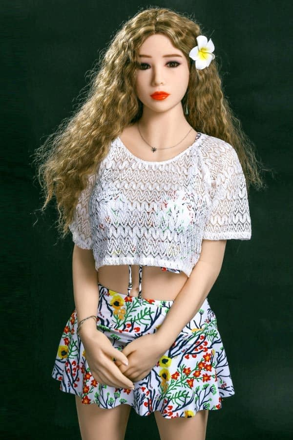 Lifelike Young Small Breasted Adult Love Doll Vicki 155cm