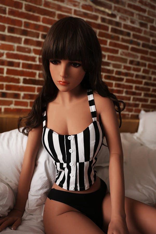 Hyper Realiatic Indian Black TPE Sex Doll Dora 155cm