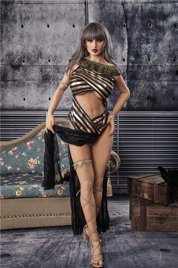 Lifelike Sexiest Punk Curvy Sex Doll Maren 163cm
