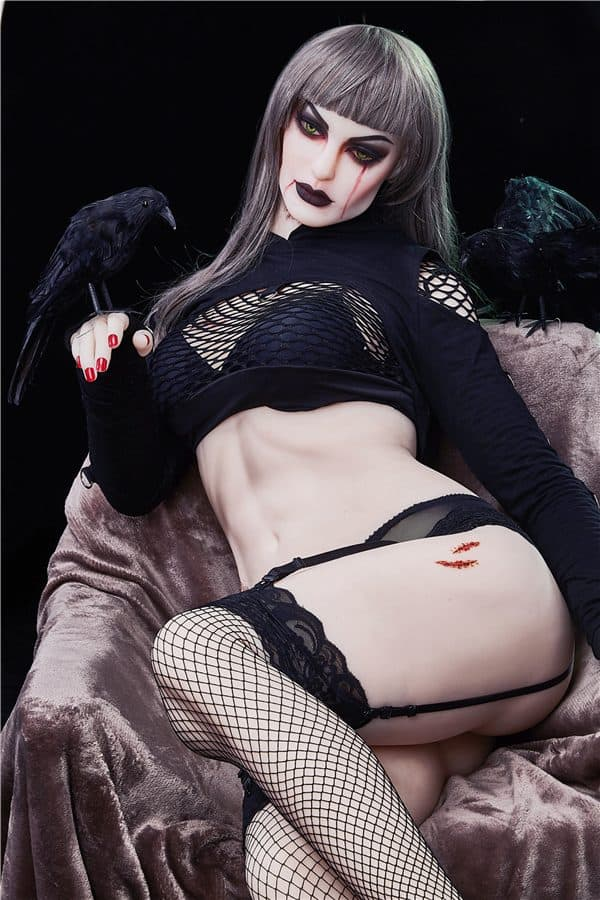 Super Real Life Size Tall Handsome Vampire Female Sex Doll Alaya 168cm