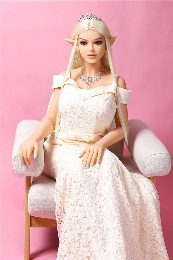 Lifelike Big Boobs Anime Tall Elf Queen Sex Doll Riley 170cm