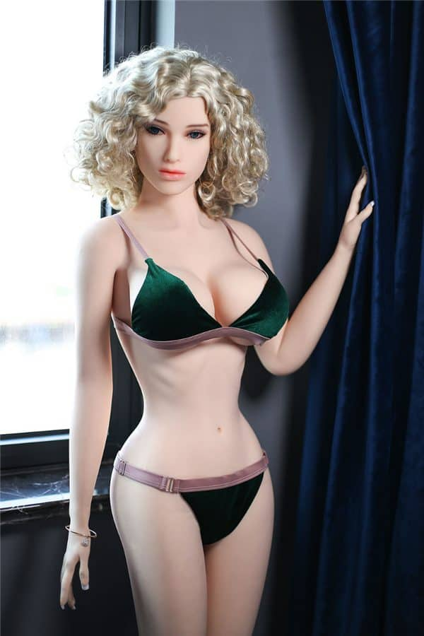 Real Life Beautiful Sexy Big Boobs Blonde Sex Doll Penelope 165cm