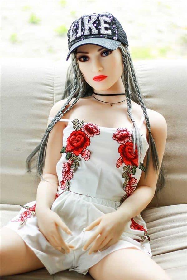 Realistic Full Size Small Tits Female Sex Doll Sofia 158cm