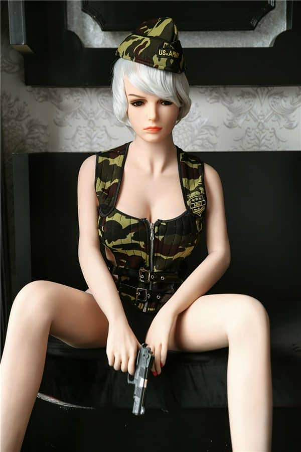 Real Life Cosplay Short Hair Sexy Female Sex Doll Harper 165cm
