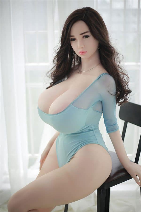 Super Real Life Size Tall Huge Tits Giant Sex Doll Alessia 170cm