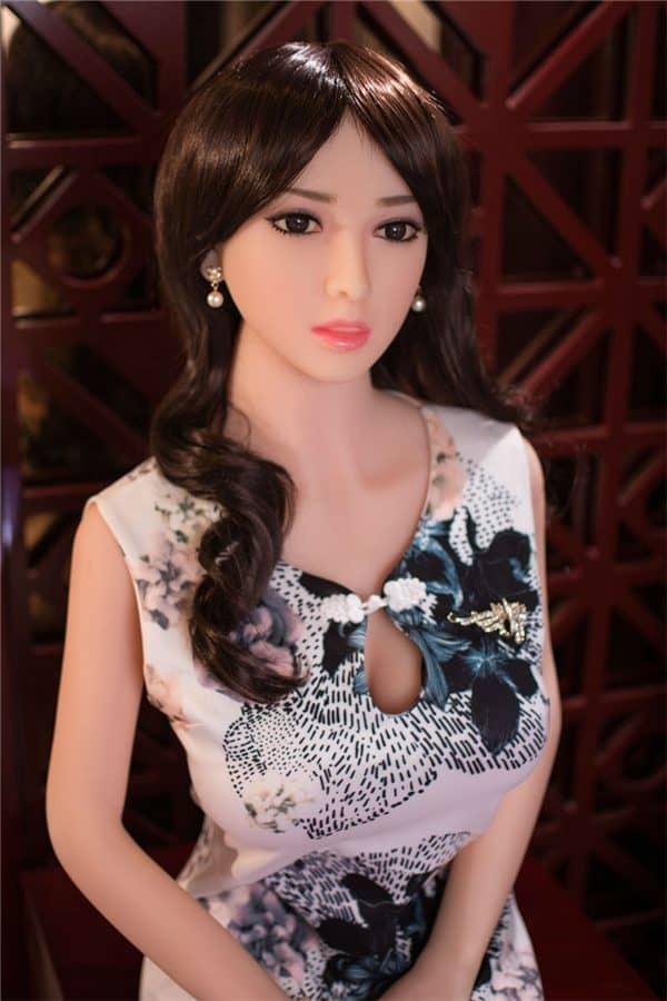 Real Life Full Size Beautiful Elegant Asian Japanese Female Sex Doll Kalani 158cm