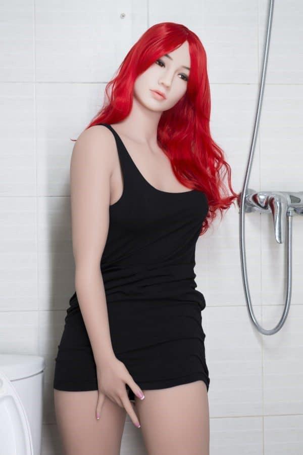 Realistic Life-size Asian Redhead Adult Sex Doll Jayda 162cm