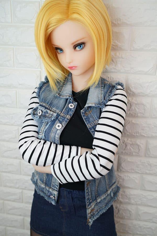 Realistic Full-size Lifelike Manga Sex Doll Lazuli 145cm