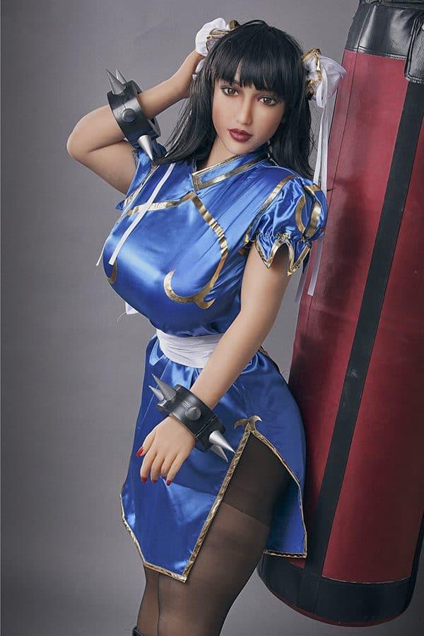Fantasy BBW Busty Sex Doll Chun-Li 158cm