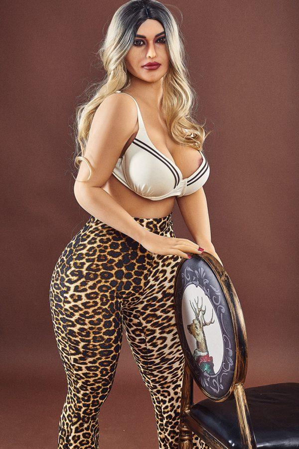 Real Life Lifelike Big Booty MILFS Sex Dolls Mckenzie 156cm