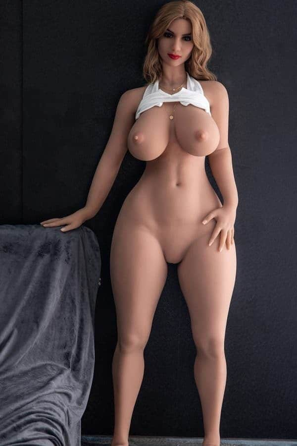Real Life Perfect Mature Sexy Blonde Thick Sex Doll Alexis 164cm
