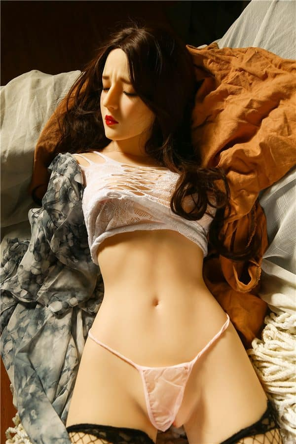 New Closed Eyes Sex Doll Torso Callie 85cm