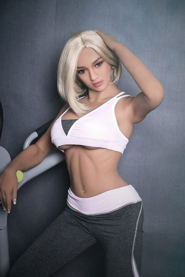 Full-size Blonde Young Female Sex Doll Gracie 168cm