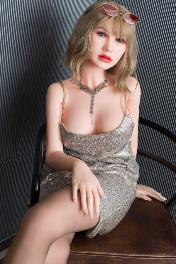 Realistic Life-size Mature Blonde Sex Doll Blakely 165cm