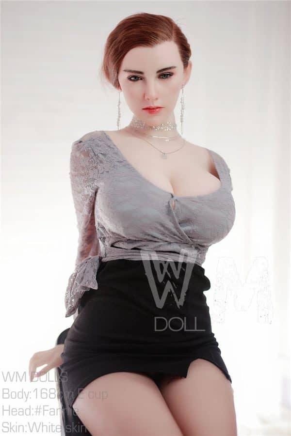 Hyper Realistic Big Breasted Plump Silicone Sex Doll Briella 168cm