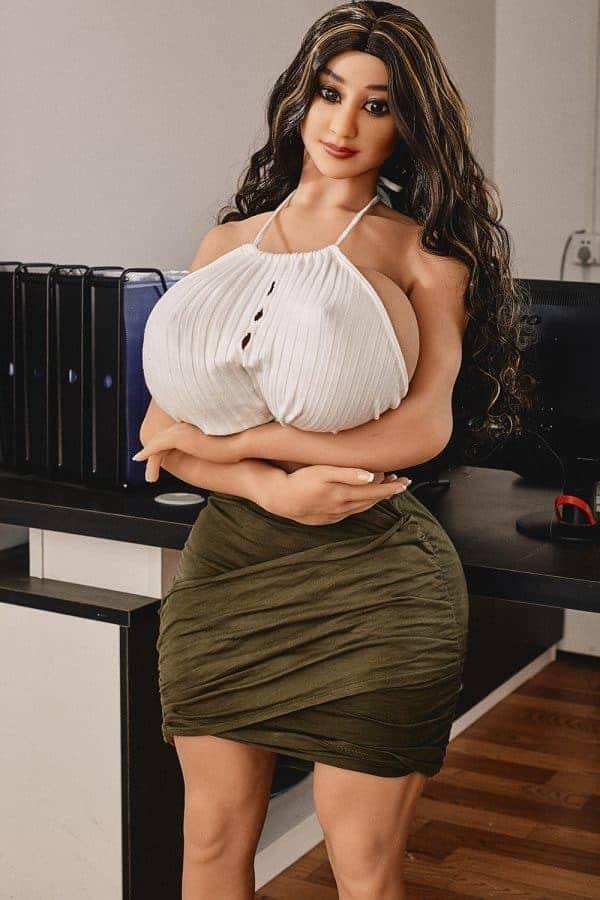 Top Big Boobs Big Ass Adult Fat Sex Doll Ember 140cm